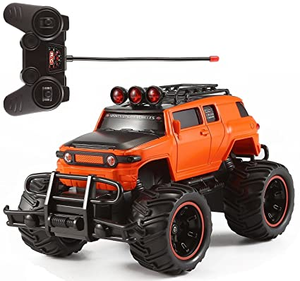 Amazon Com R C Monster Truck Toy Remote Control Rtr Electric