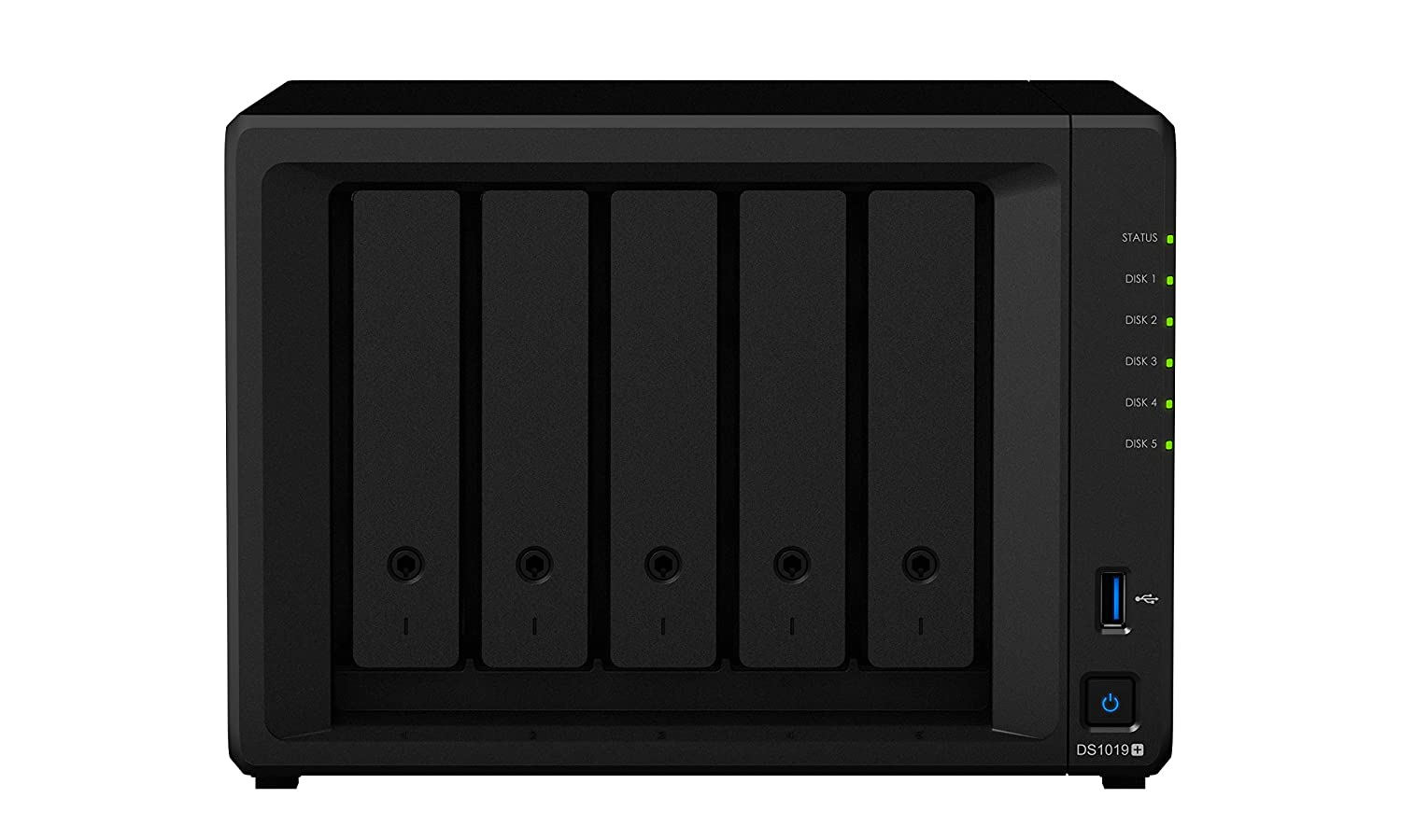 Synology 8 Bay NAS Diskstation Bundle with Synology M.2 Adapter Card DS1819+ M2D18 Diskless