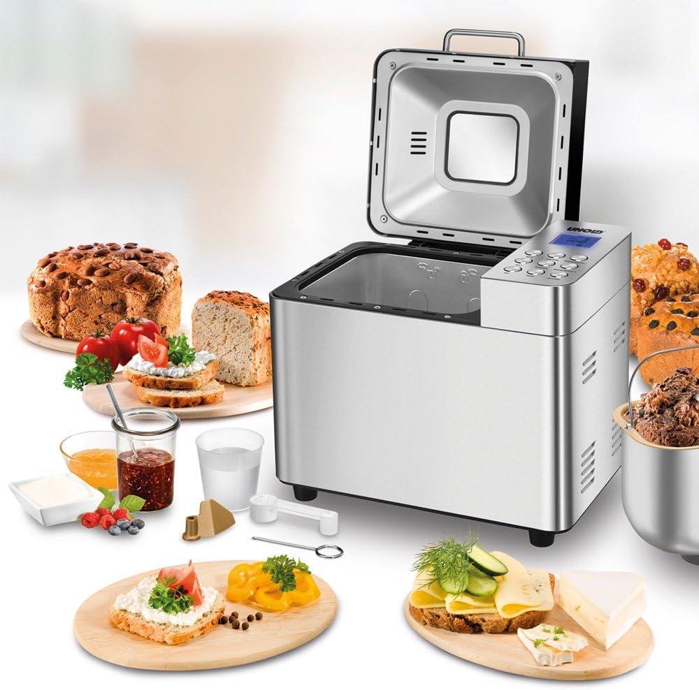 Máy làm bánh mì tự động Unold 68456, 16 Chương trình