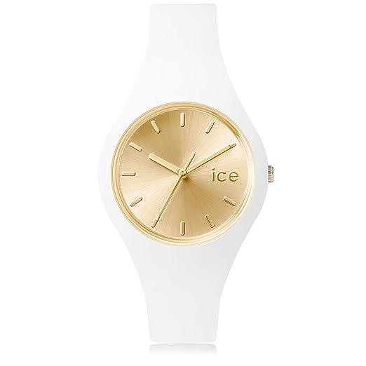 Ice-Watch - ICE chic White Gold - Reloj bianco para Mujer con Correa de