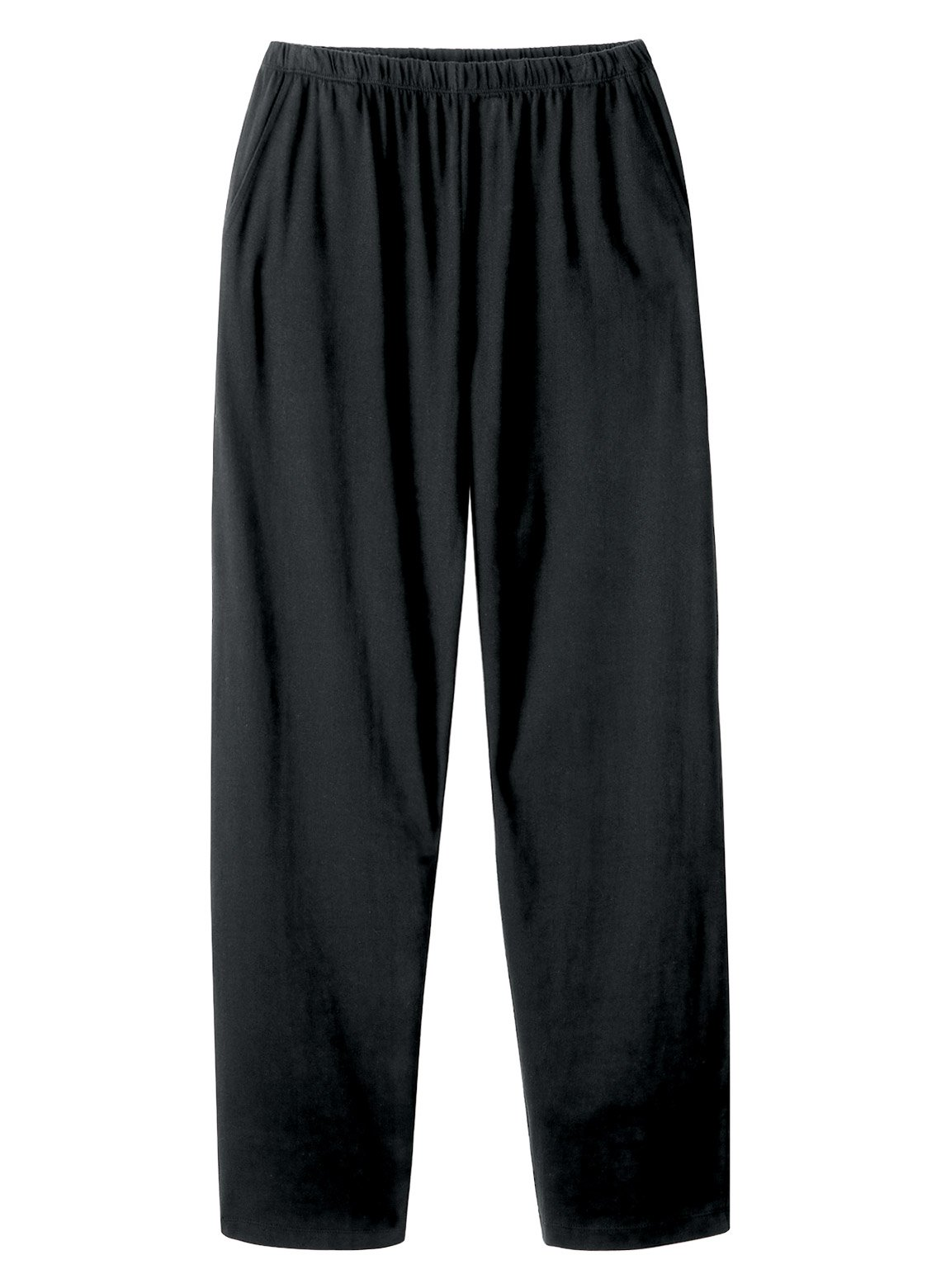 Carol Wright Gifts Essential Knit Pant, Color Black, Size Large, Black, Size Large