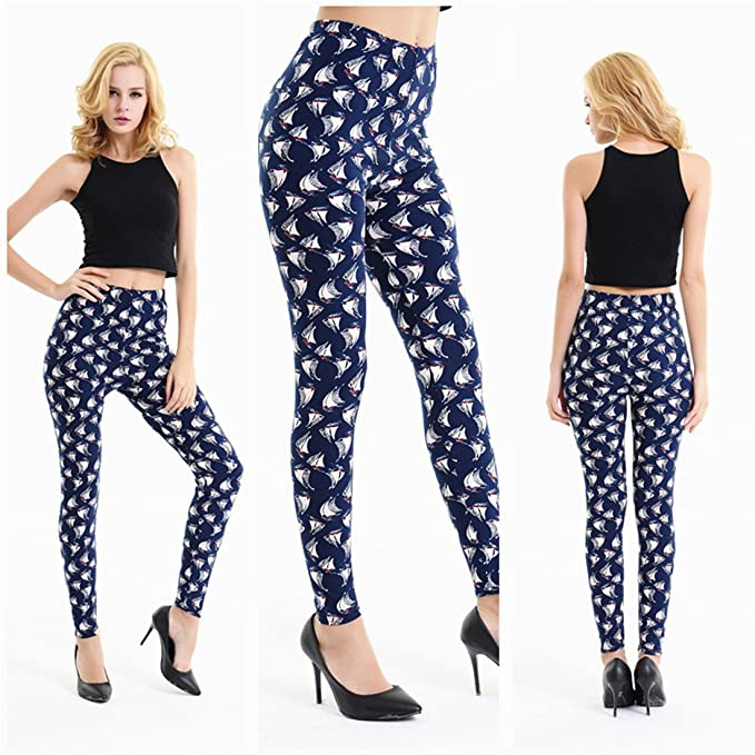 f1a77ccaaa045 Womens Yoga Pants,YKA,Girl Starry Print Tight Trousers Leggings High Waist  Fashion Pants for Ladies - Multicoloured - Free Size: Amazon.co.uk: Clothing