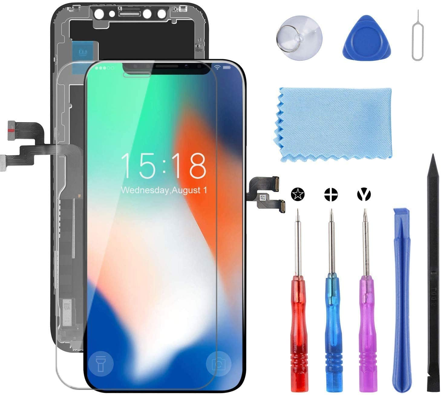 for iPhone X Large special price Screen Replacement Pantall 5.8 Display A surprise price is realized inch LCD