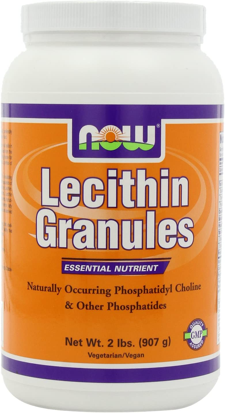 NOW Lecithin Granules, 2-Pounds