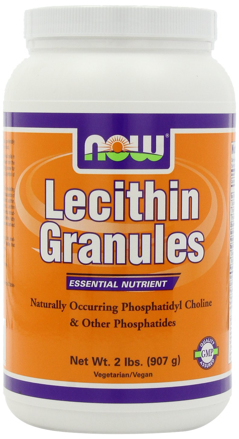 NOW  Lecithin Granules, 2-Pounds by NOW Foods