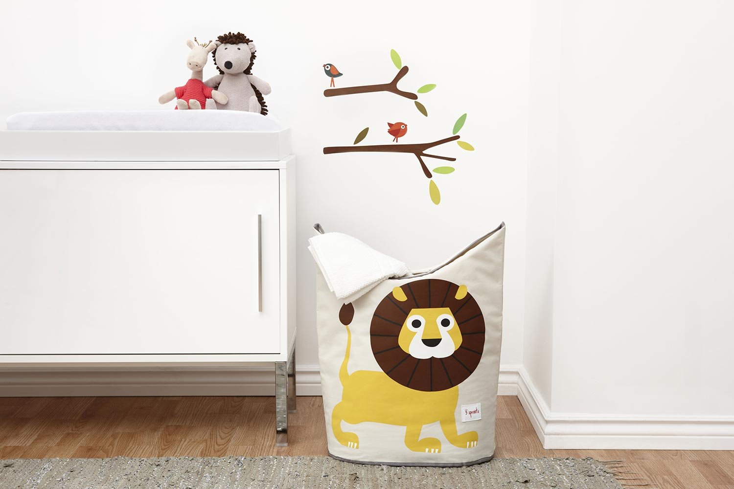 3 Sprouts Laundry Hamper – Baby Storage Basket Organizer Bin for Nursery Clothes by 3 Sprouts (Image #3)
