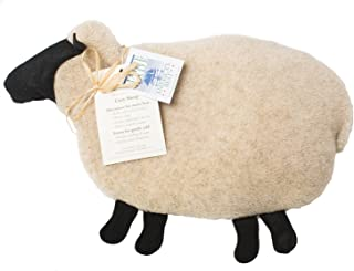 product image for Maine Warmers Cozy Sheep Corn Filled Heating Pad - Heat or Freeze!