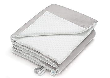 Rosa - Federn EliMeli BABYDECKE Kuscheldecke 100/% Baumwolle Warme Baby Decke aus Waffelstoff mit F/üllung Ideal als Kinderwagendecke Geschenke f/ür Junge und M/ädchen neue Kollektion