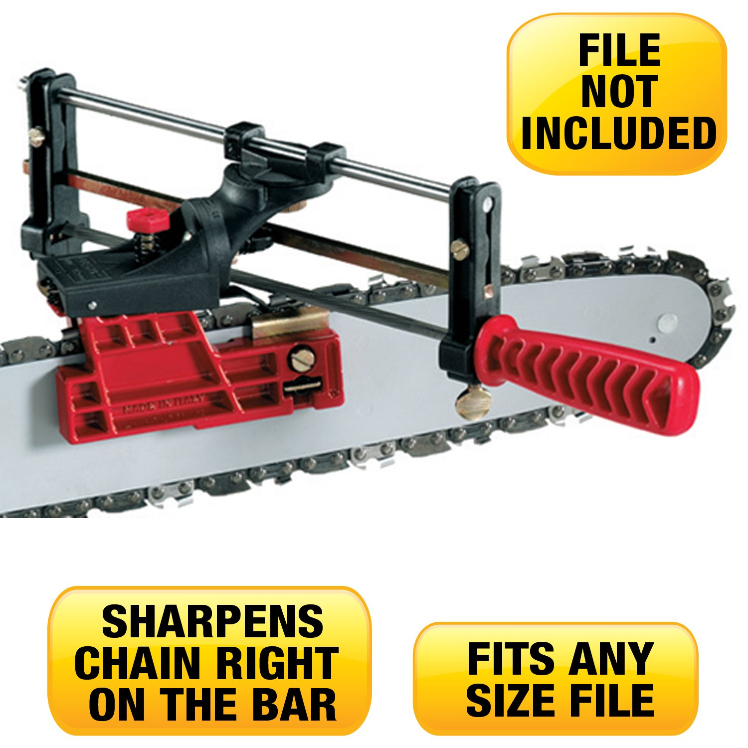 How to sharpen a chainsaw chain / blade and set up your chain.