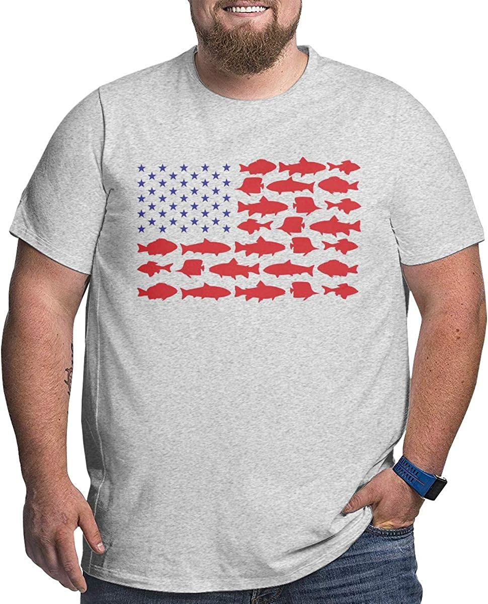 Download Vv No Fishing Usa Flag Svg Men S Boys Big Size Short Sleeve Hoodies Slim Fit T Shirt Tee Gray Amazon Co Uk Clothing