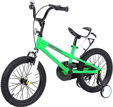 Yonntech Bicicleta Infantil 16 Pulgadas Bicicleta para niños a ...