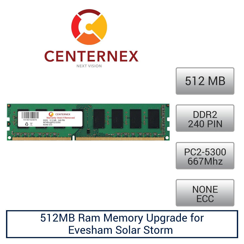 512MB RAM Memory for Evesham Solar Storm (DDR25300 NonECC) Desktop Memory Upgrade by US Seller