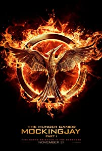 HUNGER GAMES MOCKINGJAY PART 1 MOVIE POSTER 2 Sided ORIGINAL Advance 27x40 JENNIFER LAWRENCE