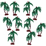 3A Featuretail Artificial Mini Coconut Tree for Project Making (10 Pieces)