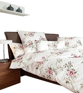 Janine Bettwäsche Interlock Jersey Rose Größe 155x200 Cm 80x80 Cm