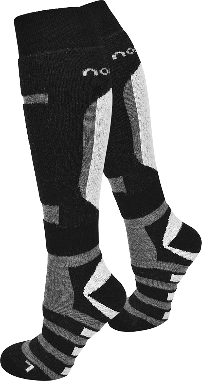 3 Paar SKI und Snowboard Socken Knie lang, Unisex, mit Spezial Polsterung