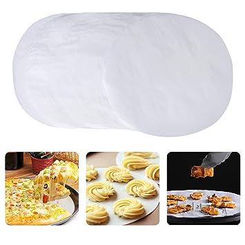 Korlon Non Stick Round Parchment Paper 9 Inch Parchment Rounds Paper Baking Circles Cake