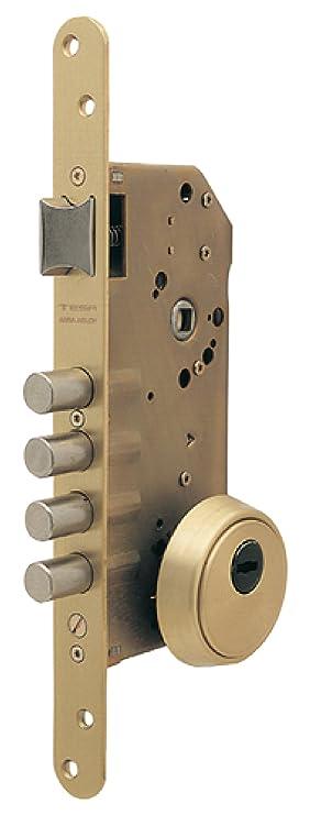 Tesa Assa Abloy R200B666L Cerradura de Seguridad Monopunto con Cilindro T60 Cromado Sin: Amazon.es: Bricolaje y herramientas
