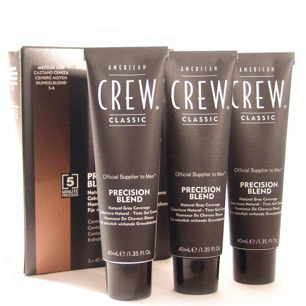 American Crew Precision Blend Hair Dyes, Medium Ash by American Crew
