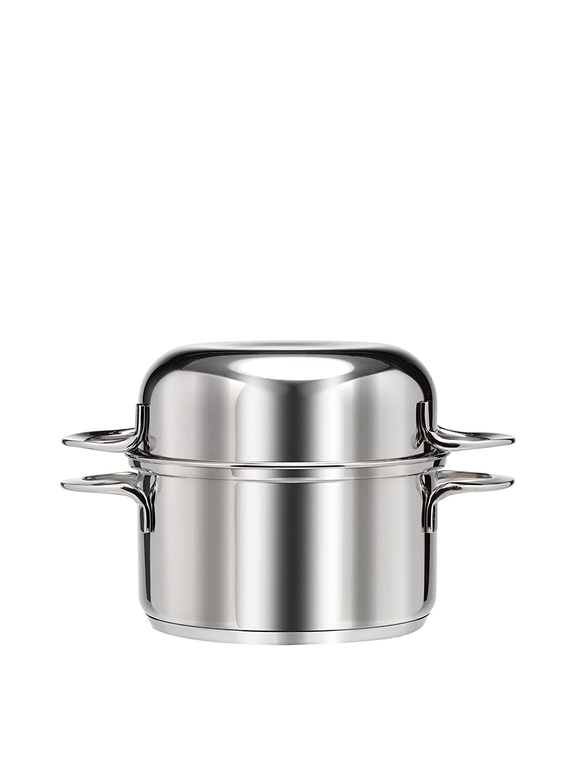 Final Touch Stainless Steel Mussel Pot