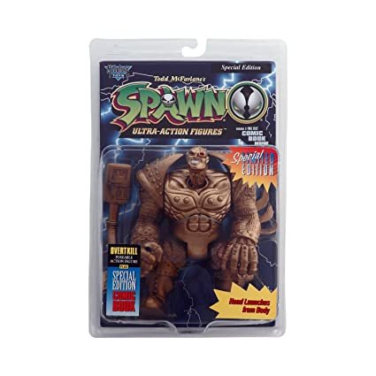 new in the box! Spawn Series 1 Gold Overtkill figure