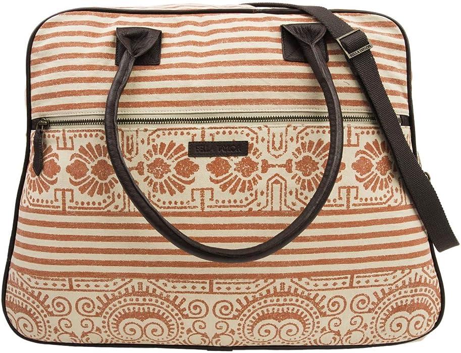 88788b424ae6 Weekender Travel Tote Bags. Bella Taylor Women s Amber Weekender