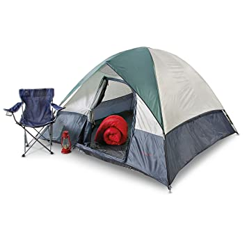 Columbus Tents 4 Person Easy Setup Tent ...  sc 1 st  Amazon.com & Amazon.com : Columbus Tents 4 Person Easy Setup Tent 8u0027 x 8u0027 x 54 ...
