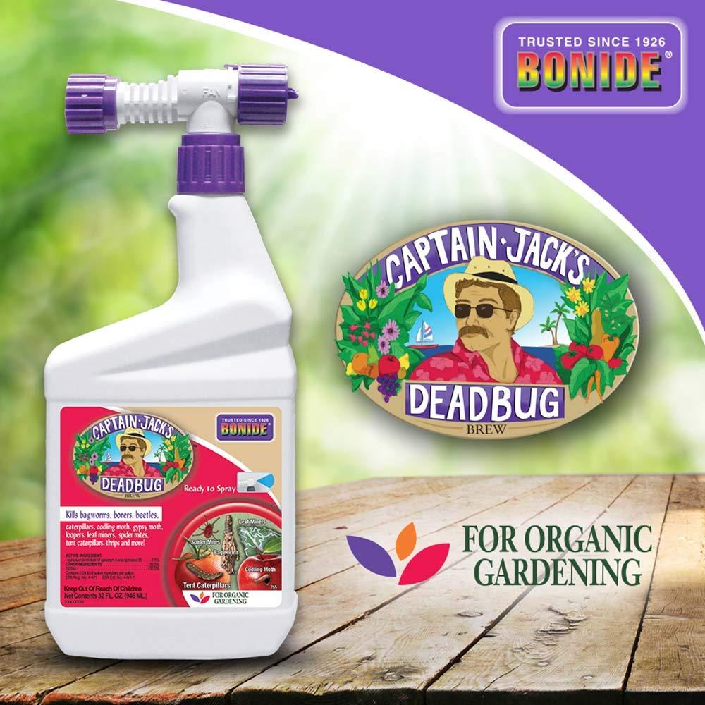 Bonide (BND255) - Captain Jack's Dead Bug Brew, Ready to Spray Insecticide/Pesticide (32 oz.) by Bonide