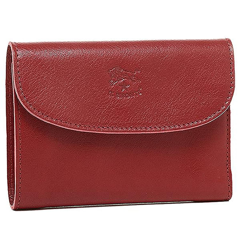 イルビゾンテ 財布 レディース IL BISONTE C0972P 245 2つ折り財布 RUBYRED [並行輸入品] B01FCUO45O