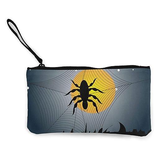 Wrution - Monedero de Tela, diseño de araña: Amazon.es: Hogar