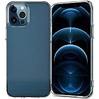 NEW'C Carcasa para iPhone 12/12 Pro (6.1 Pulgadas), absorción de Golpes, Carcasa de Silicona TPU Transparente, HD…