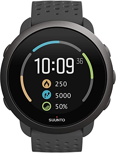 Suunto 3, Sports Watch with Wrist-Based Heart Rate, 24/7 Fitness Activity and Recovery Tracking