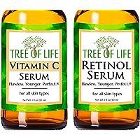 Anti Aging Serum Two-Pack - Vitamin C Serum - Retinol Serum - Anti Aging Serums For Daytime And Nighttime Skincare…