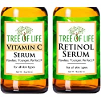Serum Combo Pack - Vitamin C Serum, Retinol Serum