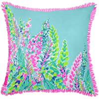 Lilly Pulitzer Large Pillow - Catch The Wave