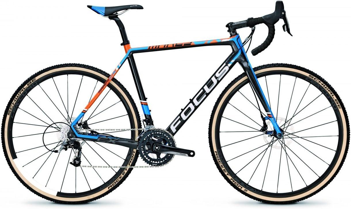 Focus Cyclocross Cilindro Mares CX Disc Rival 22 g SRAM 28 Carbon, carbon/blue(orange): Amazon.es: Deportes y aire libre