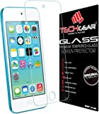 TECHGEAR Screen Protector for iPod Touch 6 - GLASS Edition Genuine Tempered Glass Screen Protector Guard Cover Compatible with Apple iPod Touch 6 [iPod Touch 6th Generation