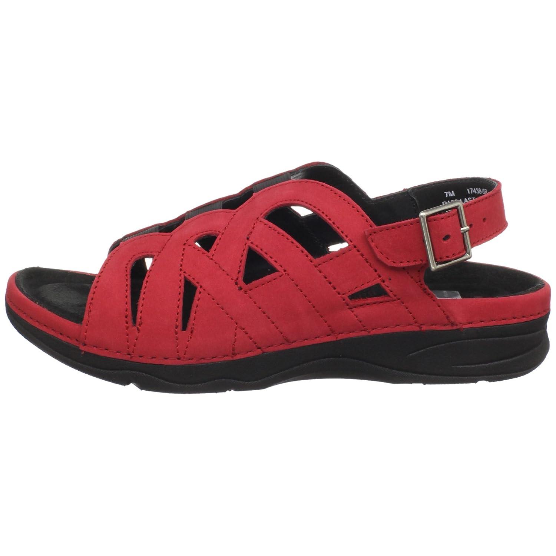 Drew Shoe Women's Sandy Sandal B003YUG6CE 10.5 XW US|Red Nubuck