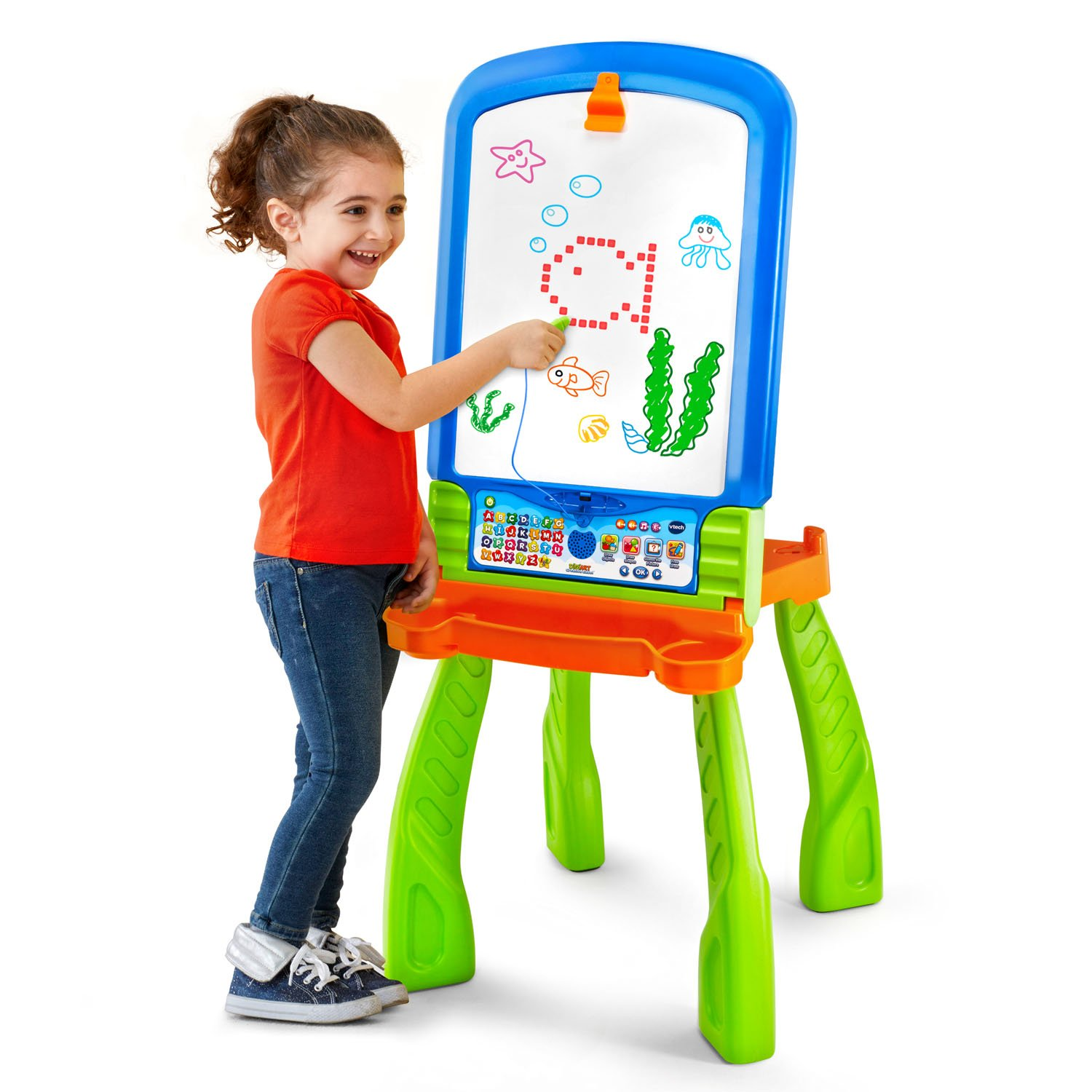 VTech DigiArt Creative Easel (Frustration Free Packaging) by VTech (Image #7)