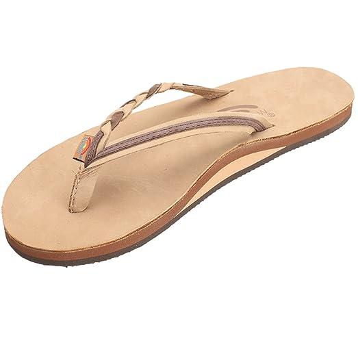 Classic Rainbow Sandals Women's Flirty Braidy Sandal - Sierra Brown