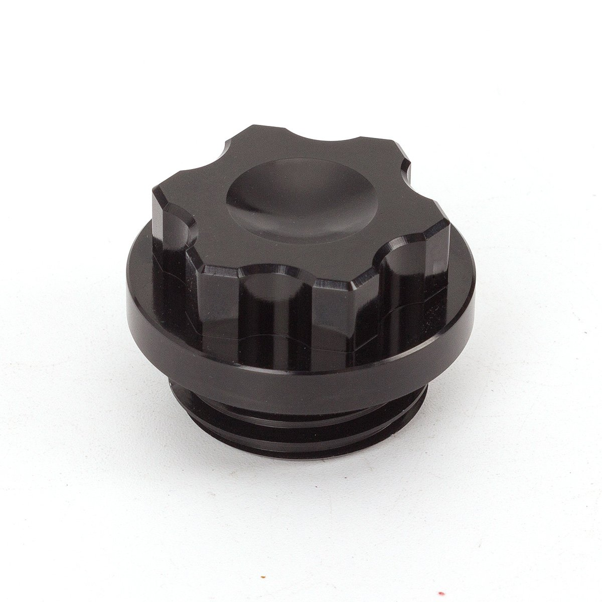 FXCNC Racing Motorcycle Anodized Filler Oil Caps fit for Yamaha YZF R1 1998-2003, 2007-2012 Aluminum Black