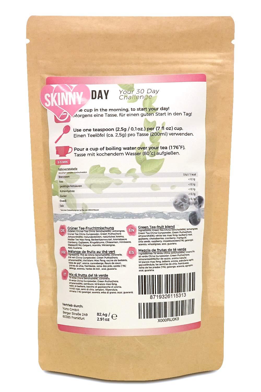 Skinnytox Day Té Desintoxicante | Suplemento Dietético ...
