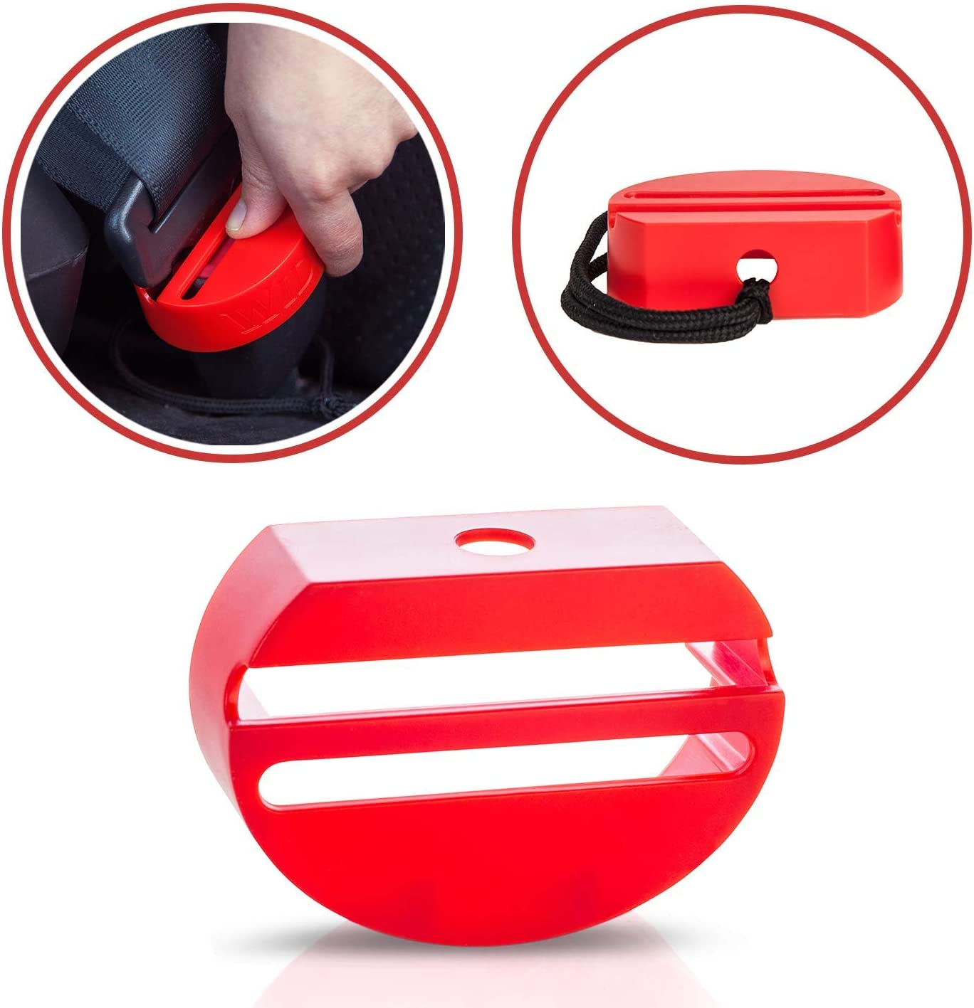 New Premium Safety Seatbelt Secure Buckle Cover By Wididi Prevent Your Chil..