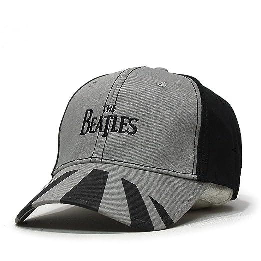 10ec918a3f1 The Beatles Classic Adjustable Baseball Cap Drop T Logo Sgt Pepper Drum  Abbey Road (Abbey