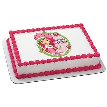 Strawberry Shortcake - Tutti Fruitti Edible Image Cake Topper Party  Accessory