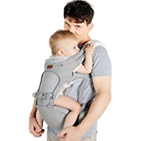 Lictin Baby Carrier 6-in-1 Ergonomic Backpack Carry for Infants from 3.5KG to 20KG, 1 Pacifier Chain, with ASTM…