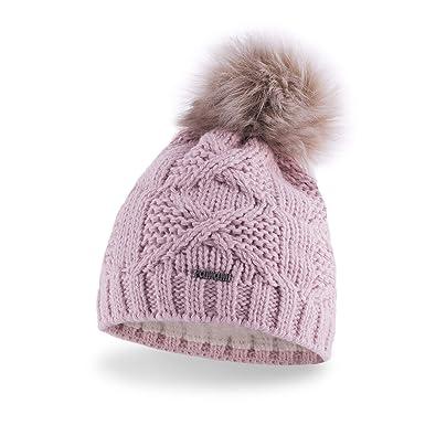 PaMaMi® Women s Pom Pom Beanie Hat  189c59205d5