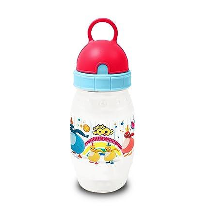 Twirly Woos Oficial - Botella de Agua de plástico Diseño Pixie para Niños (Talla Única