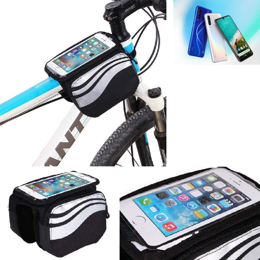K-S-Trade® Bolso Bolsa Funda Bicicleta para Xiaomi Mi A3, Teléfono ...