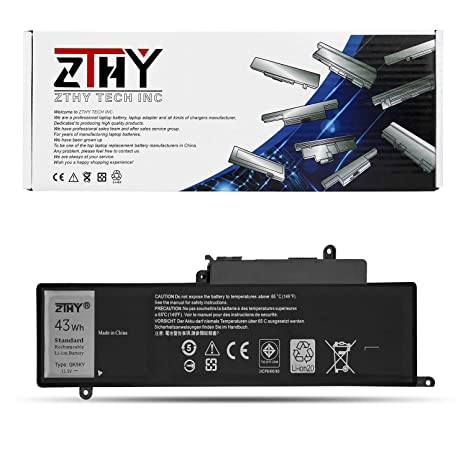 ZTHY New GK5KY Battery Replacement for Dell Inspiron 11 3147 3148 3152 3157  Inspiron 13 7347 7348 7352 7353 7359 Inspiron 15 7558 7568 P20T Notebook
